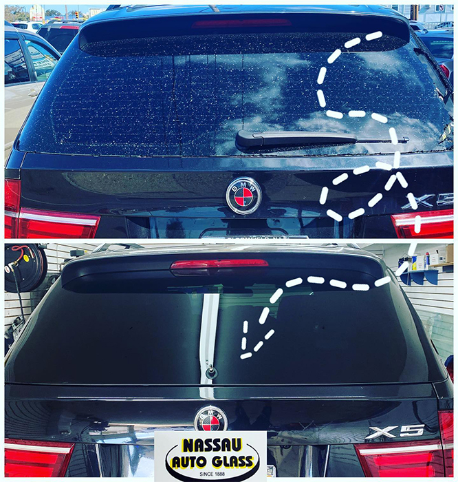 Nassau Auto Glass Services: Before & After Pic 3