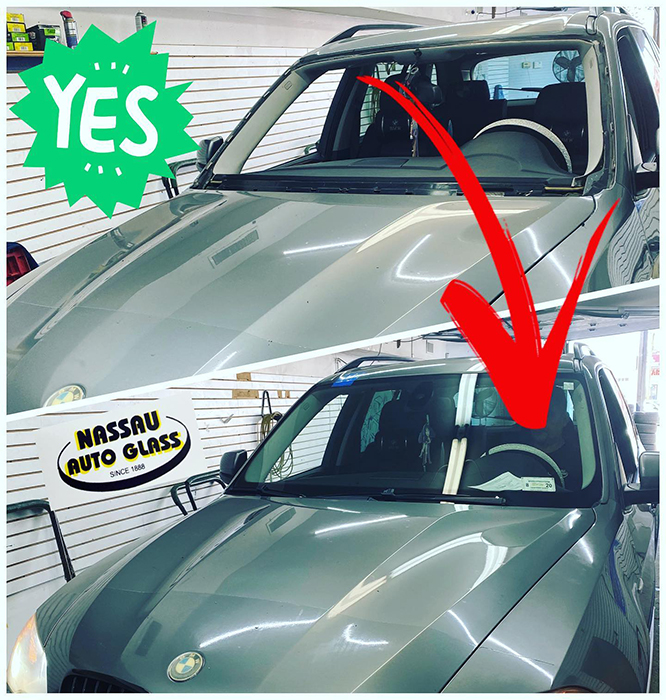 Nassau Auto Glass Services: Before & After Pic 4