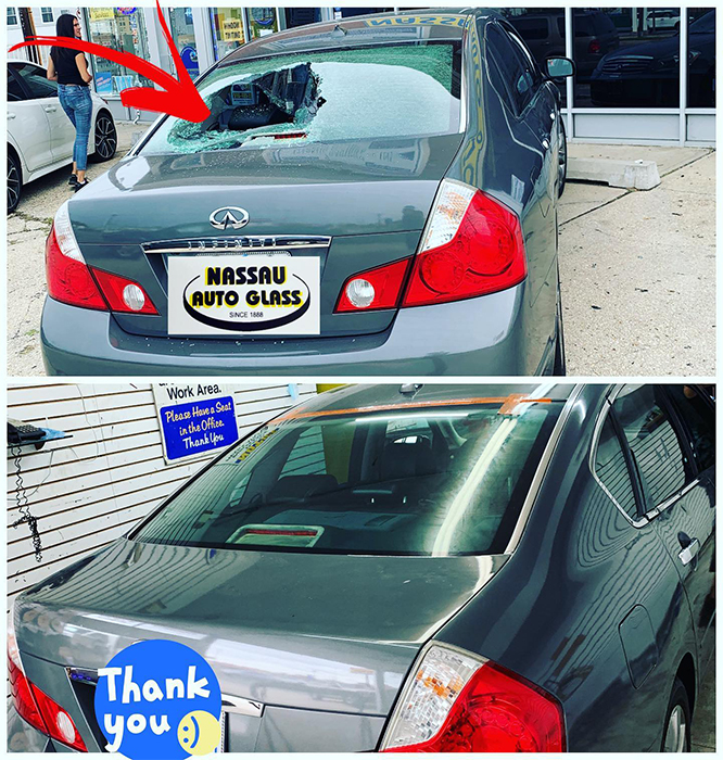 Nassau Auto Glass Services: Before & After Pic 6