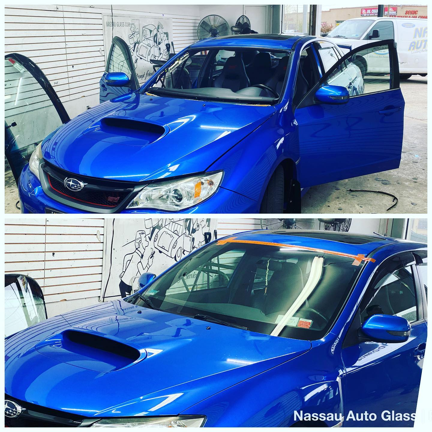 Nassau Auto Glass Services: Before & After Picture 11