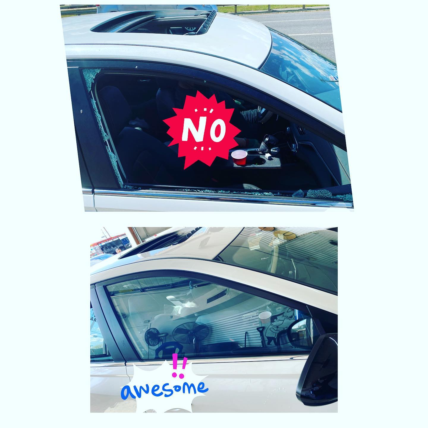 Nassau Auto Glass Services: Before & After Picture 9