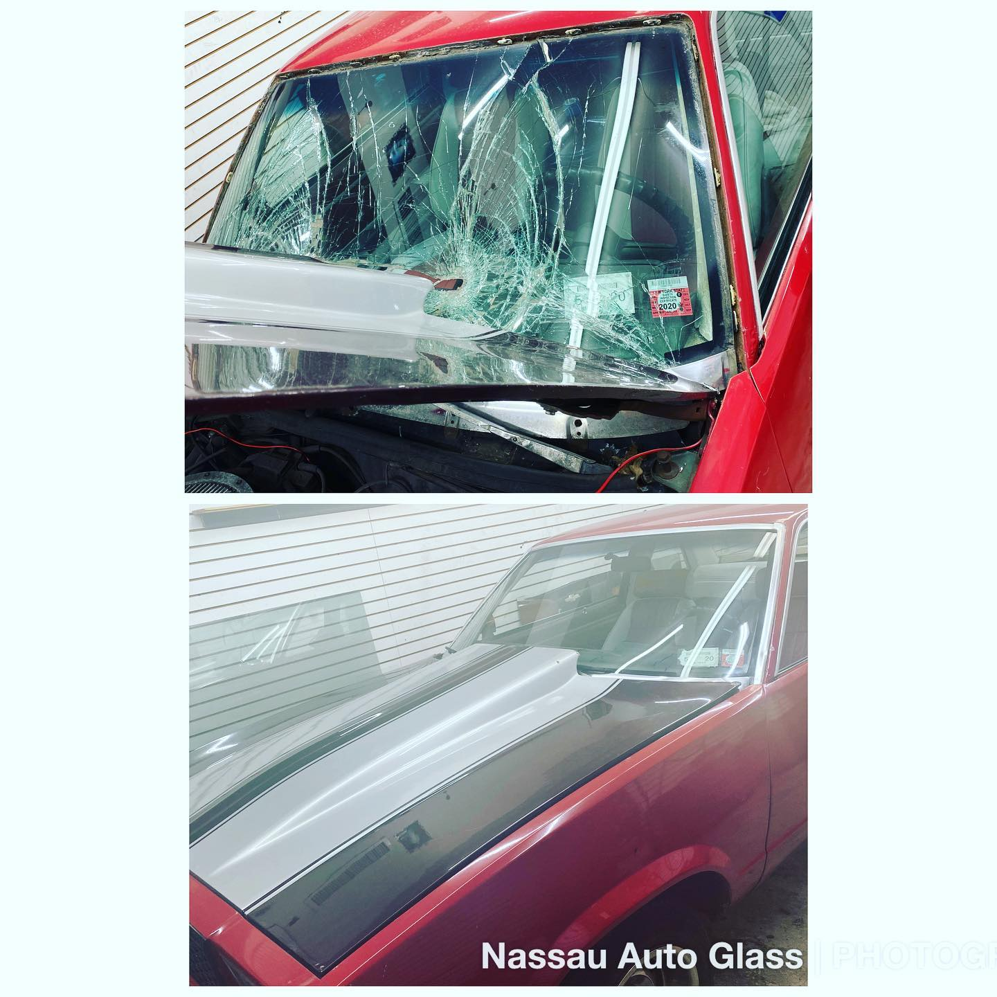 Nassau Auto Glass Services: Before & After Picture 13