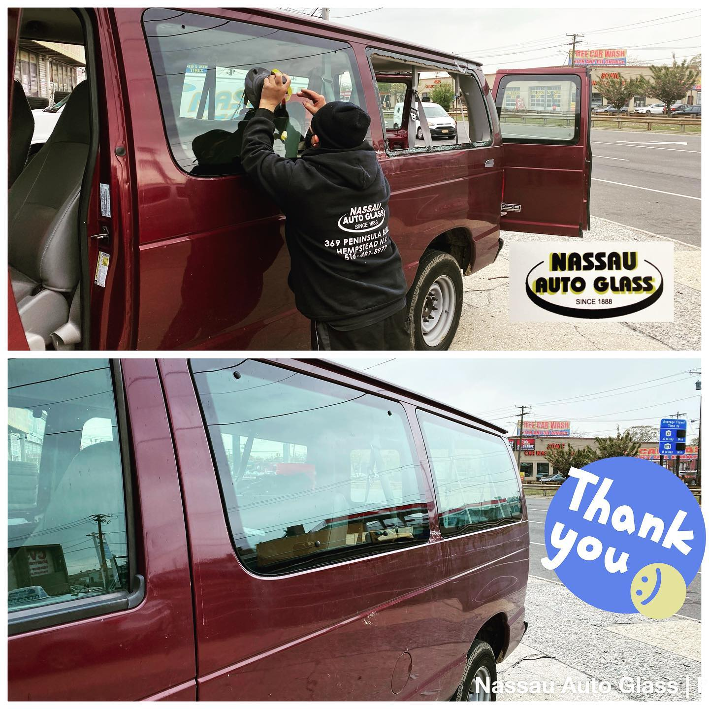 Nassau Auto Glass Services: Before & After Picture 10
