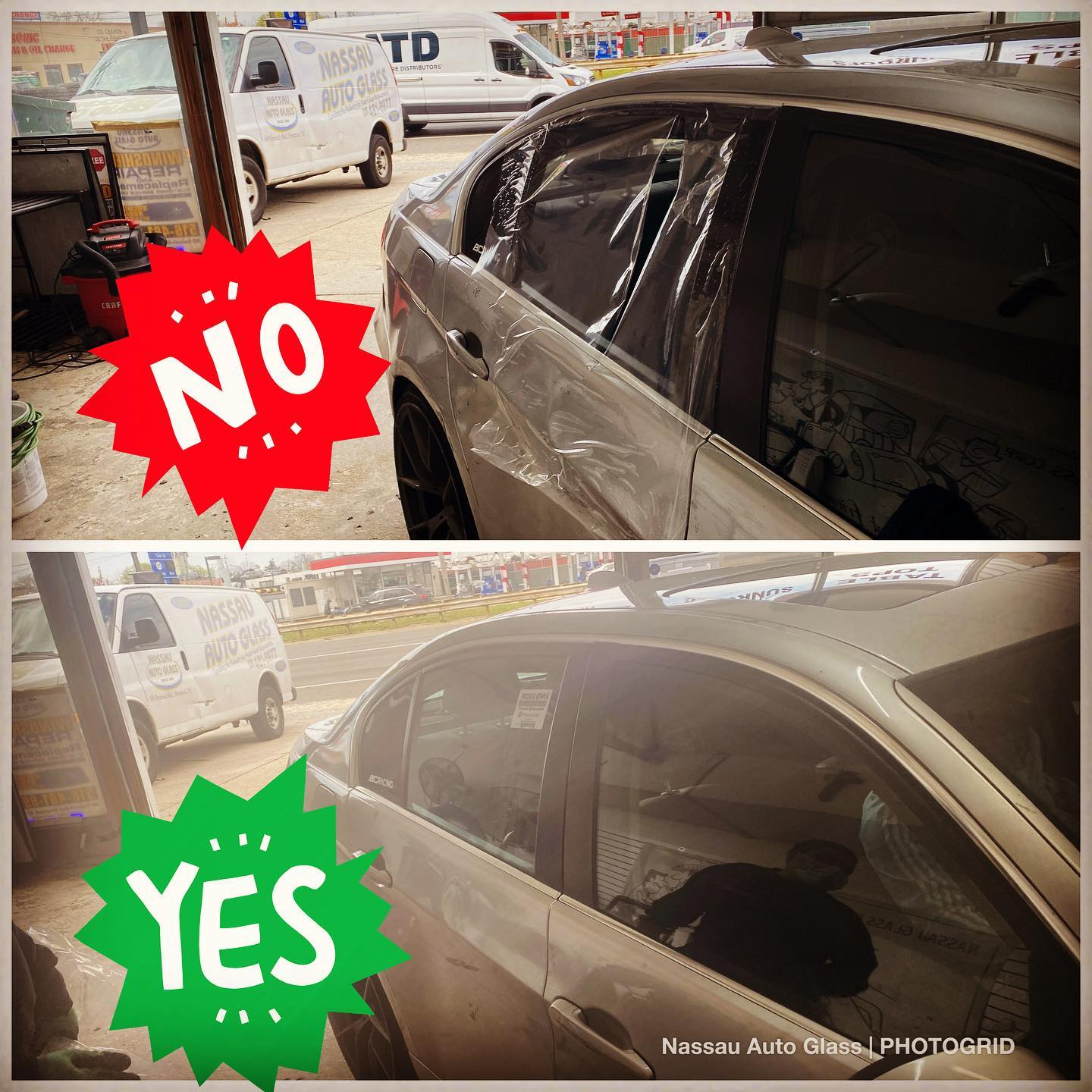 Nassau Auto Glass Services: Before & After Picture 12