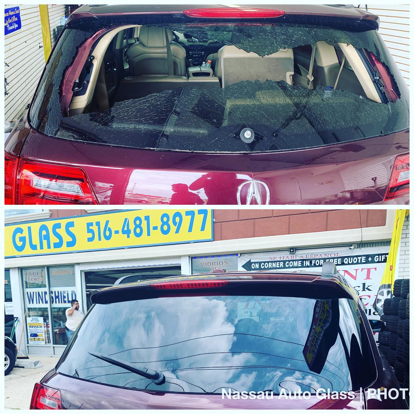 Nassau Auto Glass Services: Before & After Picture 15